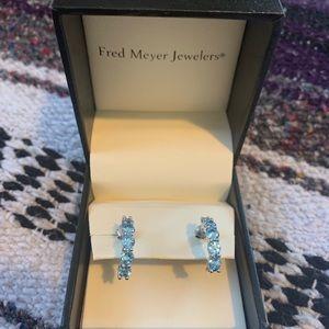 NWOT turquoise gemstone earrings
